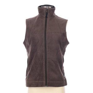 Columbia Sleeveless Fleece Vest Brown Size Small